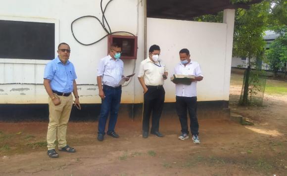 Field survey of Bhoodan lands by Director,Addl Director, O/O DLRAR & Chairman Assam State Bhoodan Gramdan Board